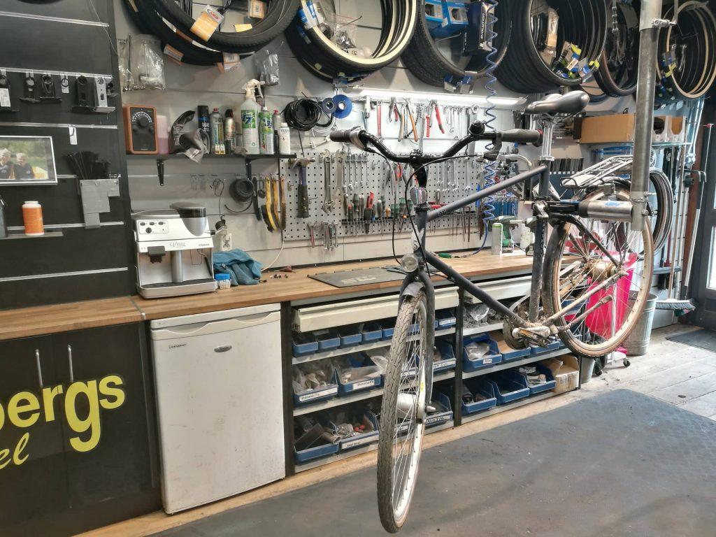 cykel reparation uppsala